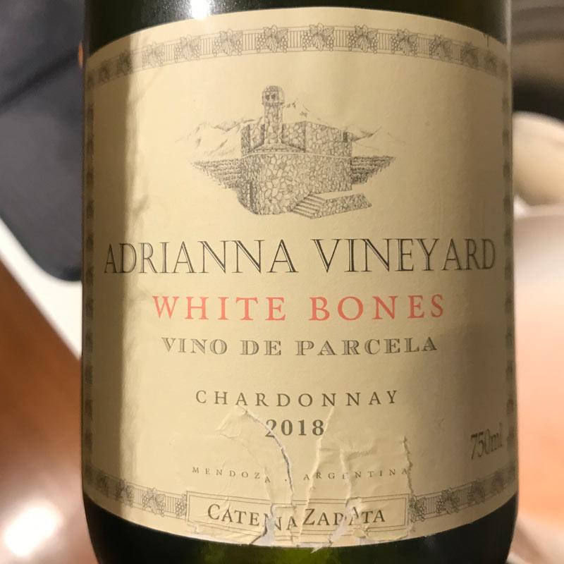 Adrianna Vineyards White Bones Chardonnay