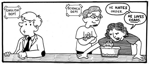 Teacher Comics: Science teachers are different from