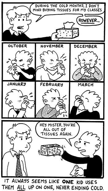 Teacher Comics: Teacher Nose Supplies (it's like, a play