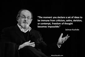 Rushdie satire