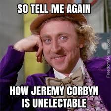 Corbyn unelectable?
