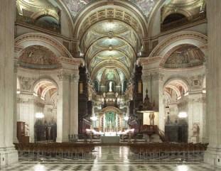 The light of St Pauls