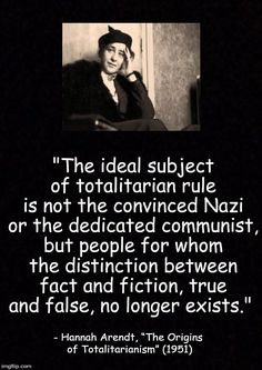 The ideal subject - Arendt