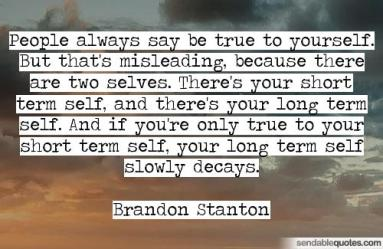 The long & short term self
