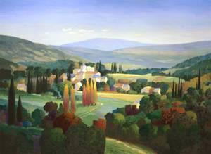 Max Hayslette Hills of Provence