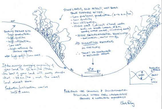Perley sketch Gully, face & wetland