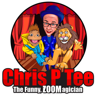 Chris P Tee the Funny Zoom Magician