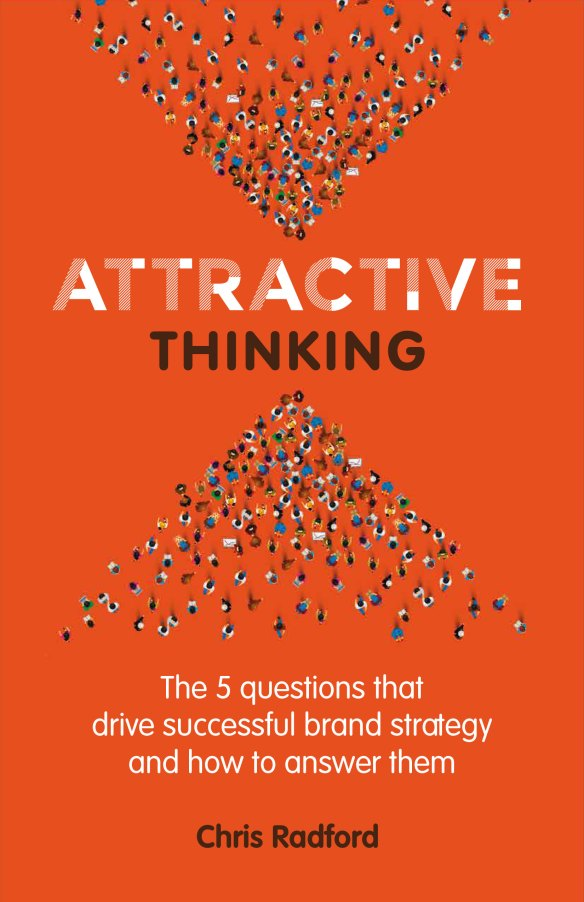 Attractive Thinking book cover by Chris Radford