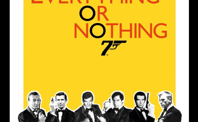 Stirred Not Shaken But Still A Vodka Martini Everything Or Nothing The Untold Story Of 007