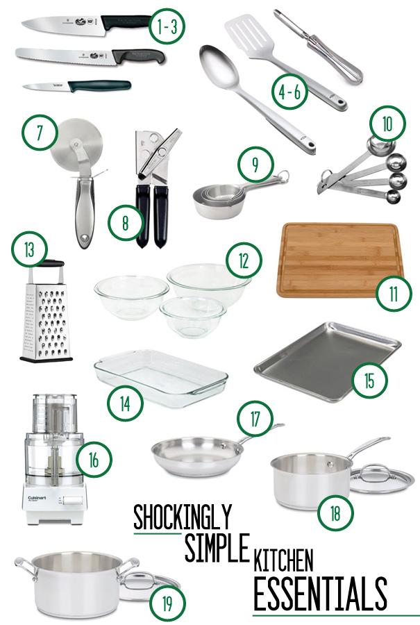 The Shockingly Simple Kitchen Essentials
