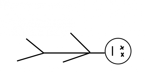 Figure Laying Down Stick