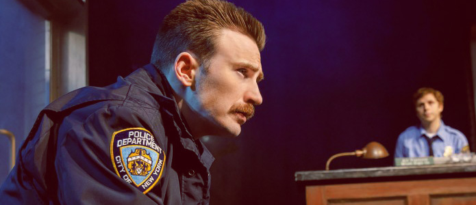 First Look at Chris Evans, Brian Tyree Henry, and the Cast of Lobby Hero on Broadway