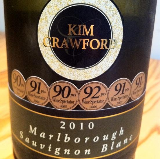 Kim Crawford 2010 Marlborough Sauvignon Blanc