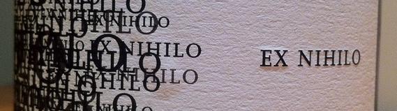 Ex Nihilo 2008 Riesling