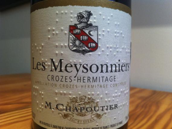 M. Chapoutier 2008 Crozes-Hermitage Les Meysonniers