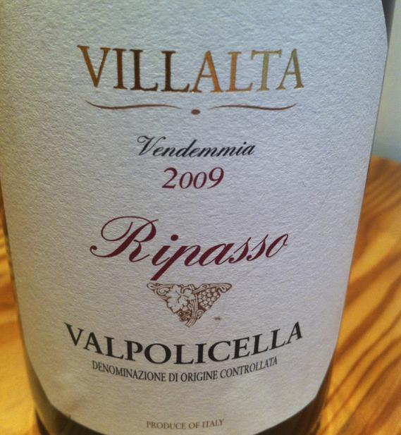 Villalta Vendemmia 2009 Ripasso Valpolicella