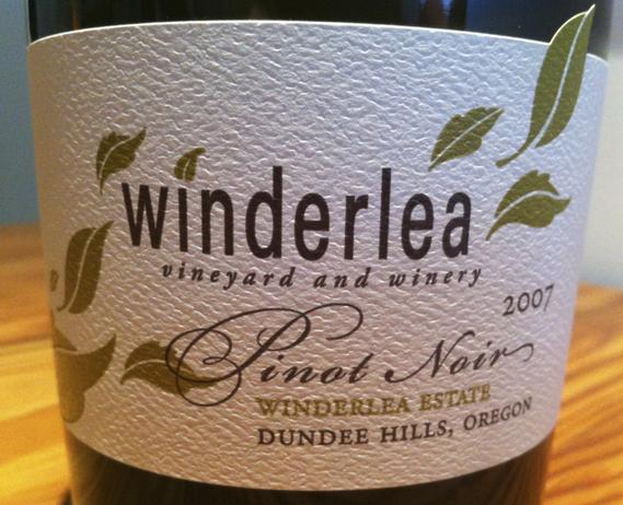 Winderlea 2007 Pinot Noir
