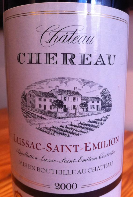 Château Chéreau 2000