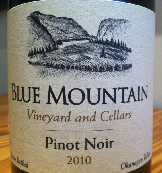 Blue Mountain Pinot Noir 2010