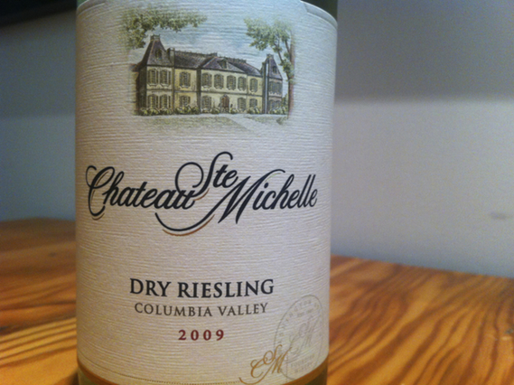 Chateau Ste Michelle Dry Riesling 2009