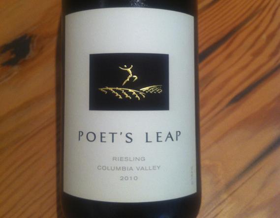 Poet's Leap Columbia Valley Riesling 2010
