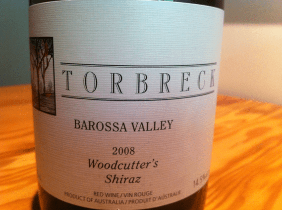 Torbreck Barossa Valley 2008 Woodcutter's Shiraz