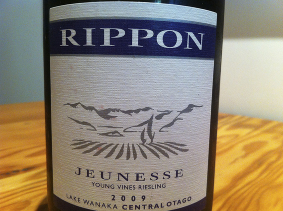 Rippon Jeunesse Young Vines Riesling 2009