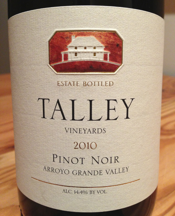 Talley Arroyo Grande Valley 2010 Pinot Noir