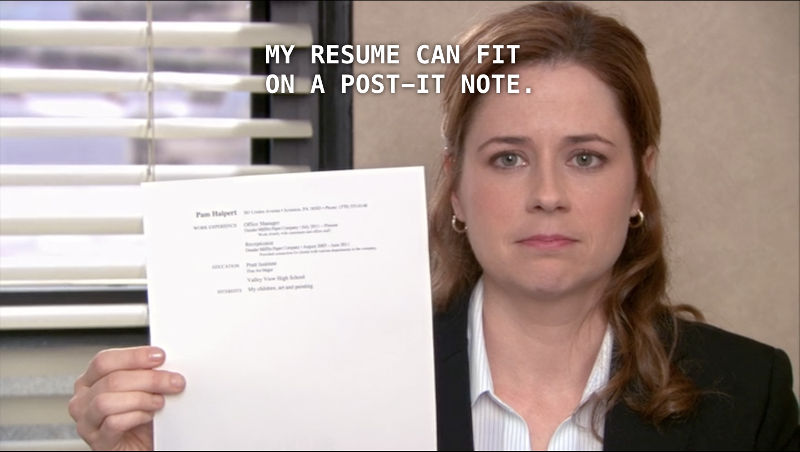 Resume The Office  Resume Ideas