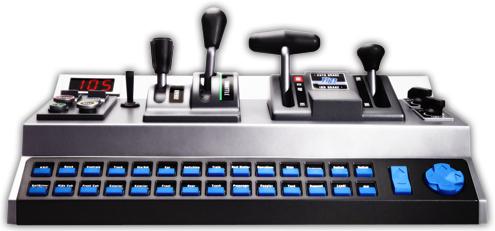 RailDriver® Desktop Train Cab Controller