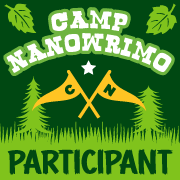 Camp NaNo Participant badge