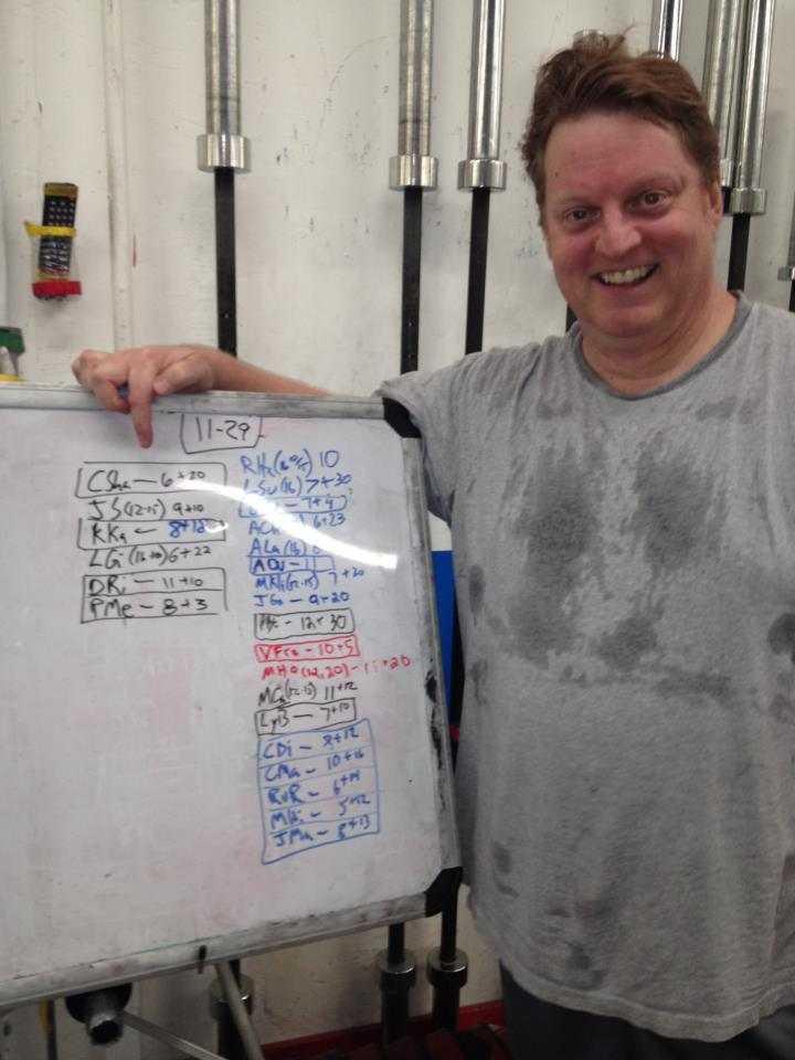 Chris' First Crossfit Prescribed WOD