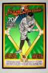 Moonalice SF Giants Jerry Gar­cia 70th Birth­day Cel­e­bra­tion poster by Chris Shaw & Chuck Sperry