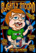 Slightly Stoopid poster by Chris Shaw