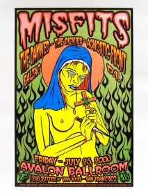 Misfits poster by Chris Shaw