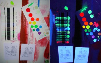 process materials of Madonna Fukushima - Color Test