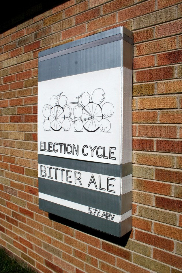 6. Election Cycle as beer label