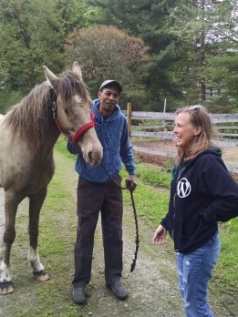 Hanging out with Kurt and Magnum in Ct