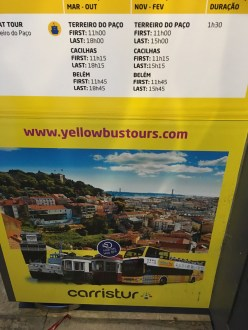 Yellow Bus Tour - Did us Wll