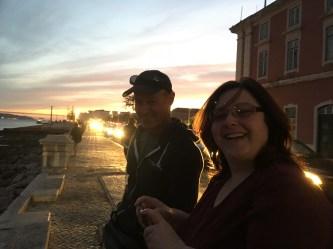 Twilight by the Tagus