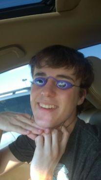 Hudi and goggles