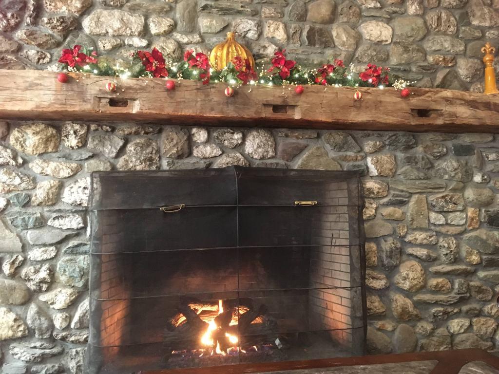 Fireplace at Jiminy Peak