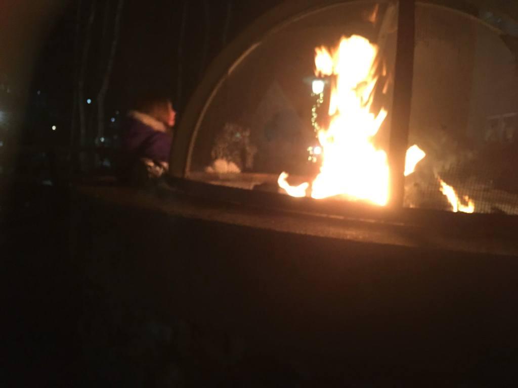 Fire Pit at Jiminy