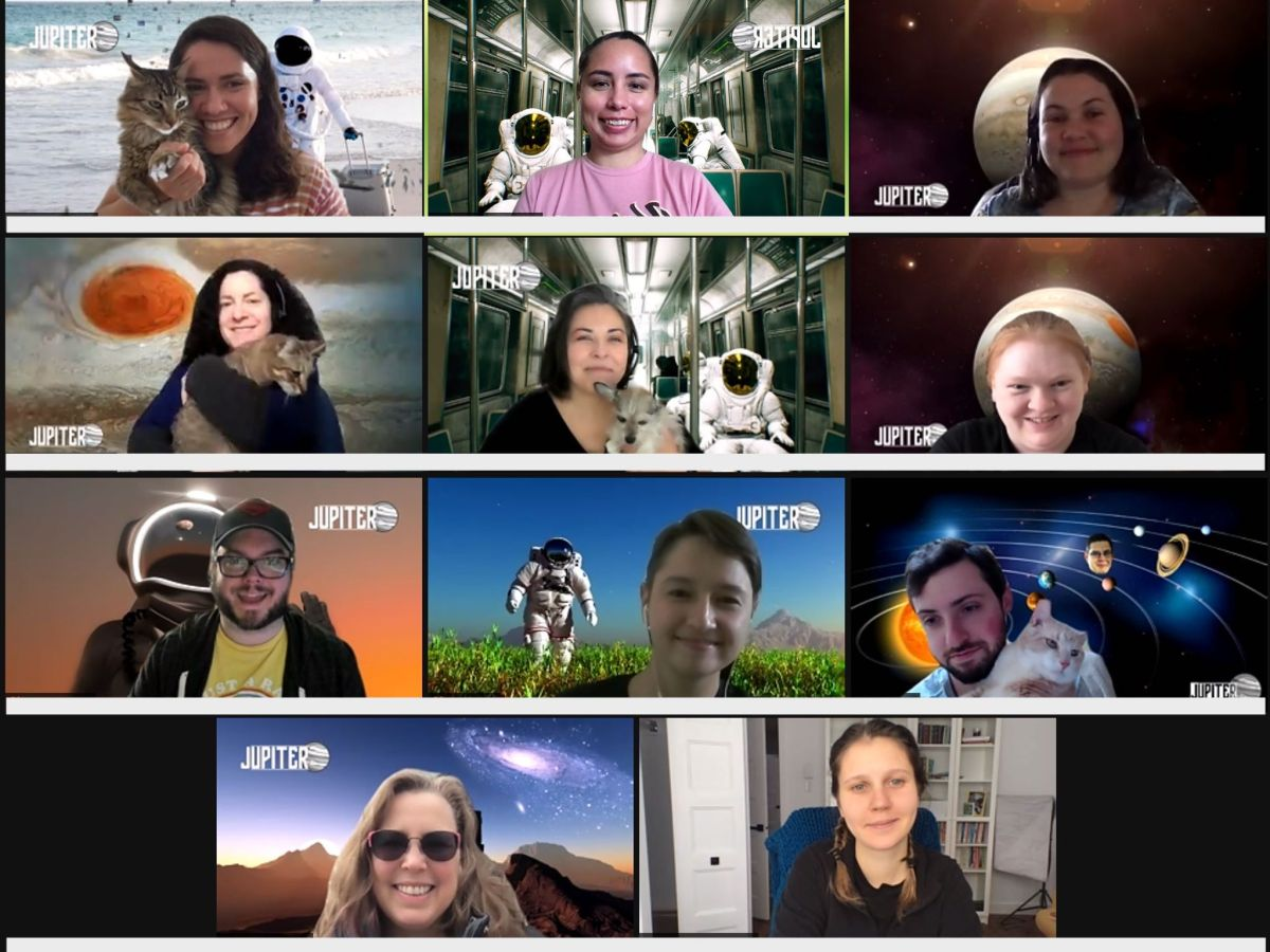 2021 Jupiter team virtual meetup