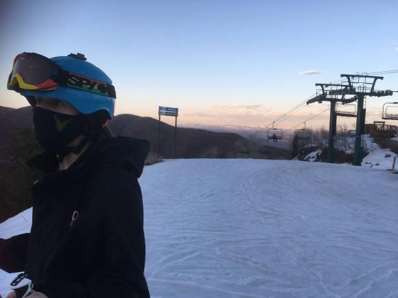 Blue skies and sunset at Sundance