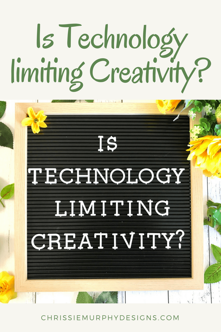 Is Technology limiting Creativity
