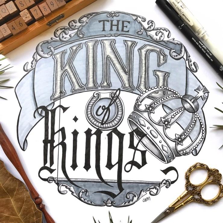 King of Kings by Chrissie Murphy Designs
