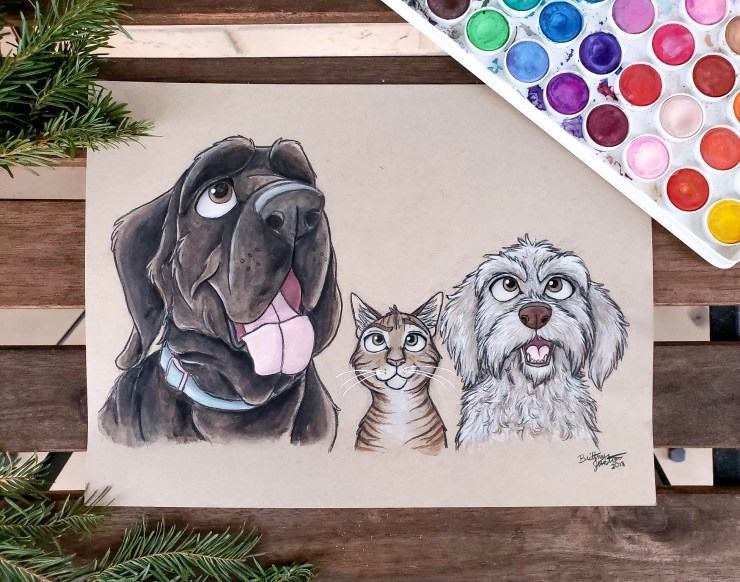 Artwork by Brittney Ann Art
