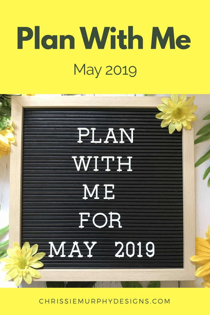 Plan With Me for May 2019