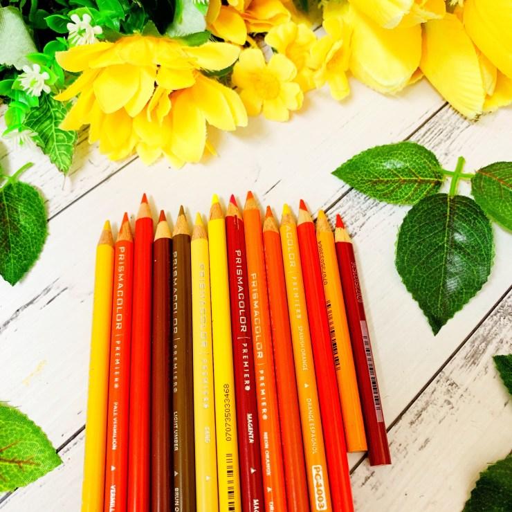 Warm Toned Prismacolors